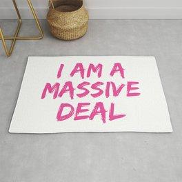 I Am A Massive Deal Rug