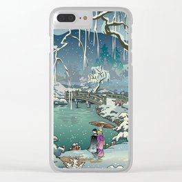 Ukiyo-e: Yuri on Ice Clear iPhone Case