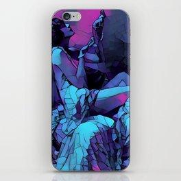 Queen Gothica iPhone Skin