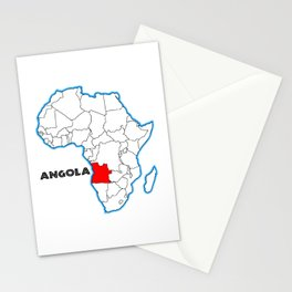Angola Stationery Cards