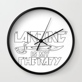 Larping Larper Larps Therapy Live-Action Play Gift Wall Clock