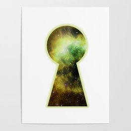 Keyhole to the Galaxy Poster
