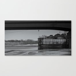 on the kaw Canvas Print