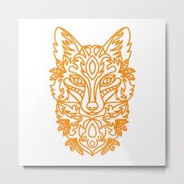 I just really like foxes ok - fox lover - fox lady Metal Print