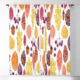 Beautiful Autumn Style Blackout Curtain