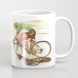 The Sprinter, Cycling Edition Coffee Mug