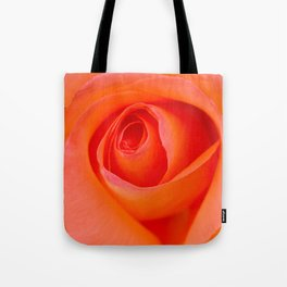 Beautiful Orange Rose Blossom Tote Bag