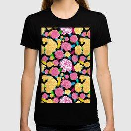 Colourful Floral Print T-shirt