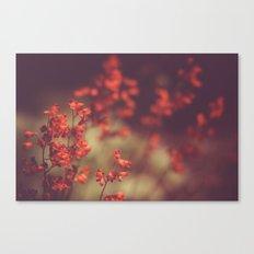 Deep Red Canvas Print