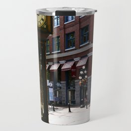 Gastown Steam Clock - Vancouver Travel Mug