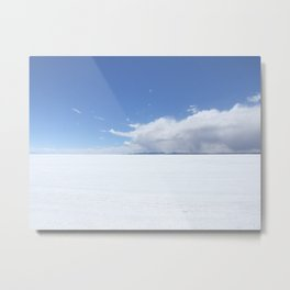 Salt sea Peru Metal Print