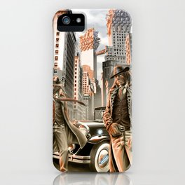Detectives from other worlds iPhone Case