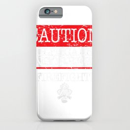 Politically Incorrect Trump Firefighter Cool Republican iPhone Case