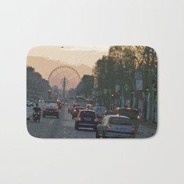 Ferris Wheel at Place de la Concorde, Paris Bath Mat