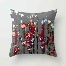 The Blood Rose Throw Pillow