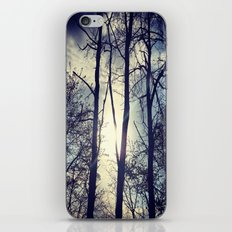 Your light will shine in the darkness iPhone & iPod Skin