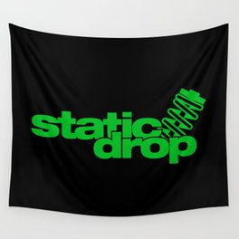 Static drop v5 HQvector Wall Tapestry