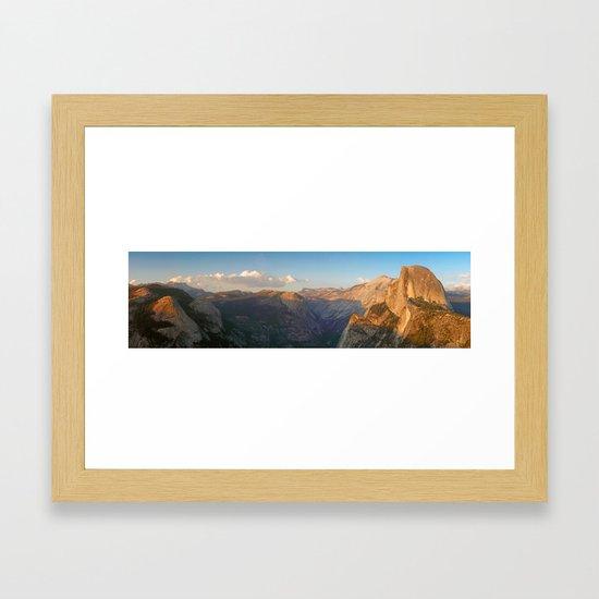 Glacier Point Panorama by nicholasblackwell
