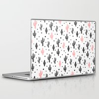 cactus Laptop & iPad Skins featuring Cactus  by Make-Ready