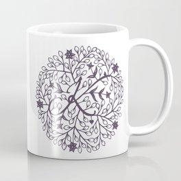 K - monogrammed initial K print Coffee Mug