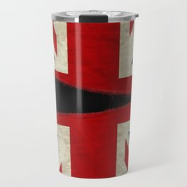 Ripped Union Jack Travel Mug