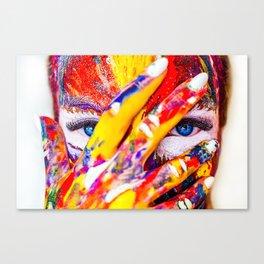Digital Painting Art   colors   HD Designs Canvas Print