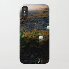 Sprouting an urban island iPhone X Slim Case