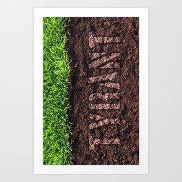 "TYRANT ""Dirty"" Art Print"