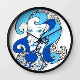 MISS OCEAN Wall Clock