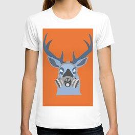 Modern Deer Negatif T-shirt