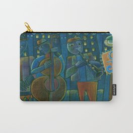 Jazz Time Late Night Jam Carry-All Pouch