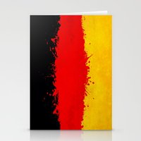 germany Stationery Cards featuring Germany by Nicklas Gustafsson