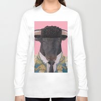 spanish Long Sleeve T-shirts featuring Spanish Bull by Rachel Waterman