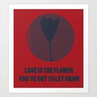 valentines Art Prints featuring Valentines by Hazel