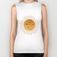 sun and moon Biker Tanks featuring sun-moon by Vila Propuh