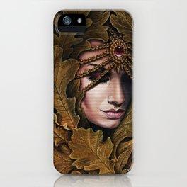 Mabon - goddess of fall iPhone Case