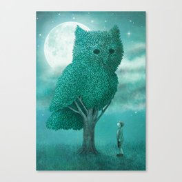 The Night Gardener - Cover Canvas Print