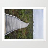 Grey Skies Art Print