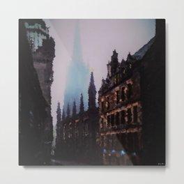 Paris Autumn Morning - A Portrait by Jeanpaul Ferro Metal Print