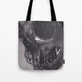 Waterlogged Skull Tote Bag