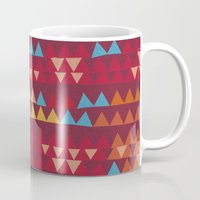 indian Mugs featuring indian by spinL