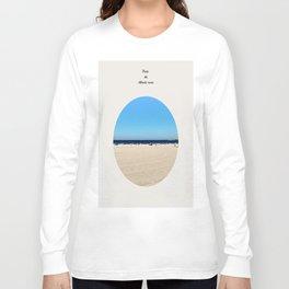 The Atlantic Ocean  Long Sleeve T-shirt