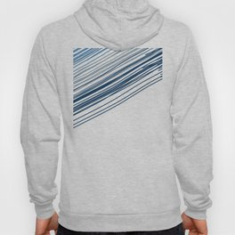 Blue & Grey stripe Hoody