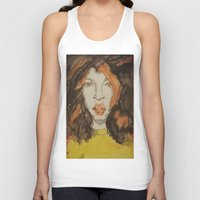 afro Tank Tops featuring Afro by Stephon Daniels