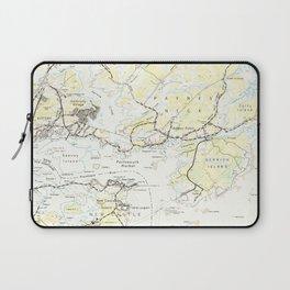Vintage Map of Kittery Maine (1944) Laptop Sleeve