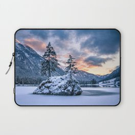Hintersee Lake Alps winter Berchtesgaden National Park Bavaria beautiful nature Germany Europe Laptop Sleeve