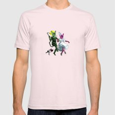 Dance, Chauncey, Dance - French Bulldog Light Pink SMALL Mens Fitted Tee