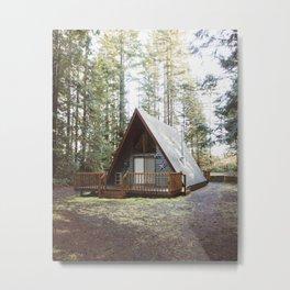 Cushman Cabin | Pt. 2 Metal Print
