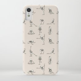 Skeleton Yoga iPhone Case