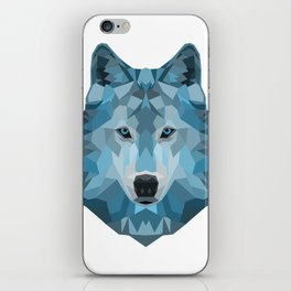 """Ice Wolf"" iPhone Skin"